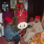 NSE PRESIDENT BAGS CHIEFTAINCY TITLE – OKPUSU OF OKWU KINGDOM, ORLU, IMO STATE