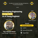 TechMentor Webinar Series: Developing Engineering Design Skills as a young engineer.
