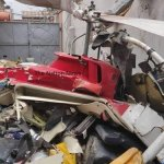 Helicopter crashes at Opebi, Lagos
