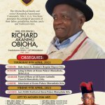 Reminder of Burial Ceremony of HRH Eze R.A. Obioha, NSE Foundation Member