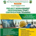WORKSHOP INVITATION: PROJECT MANAGEMENT PROFESSIONAL(PMP) CERTIFICATION TRANING