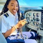 Meet 23-Year-Old Nigerian-Born Miracle Izuchukwu, Private Pilot and Flight Attendant at American Airlines
