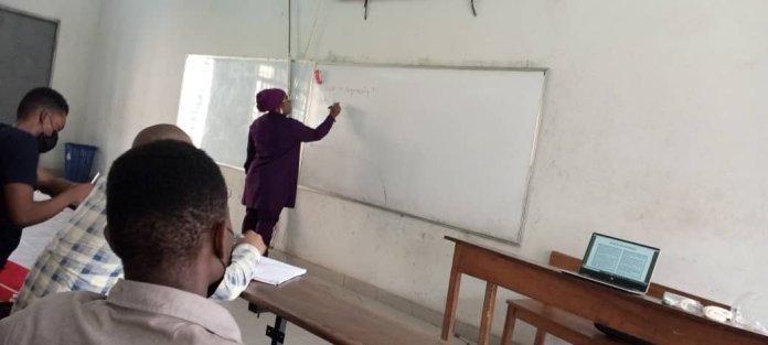 Oguntala Returns to Classroom, Propagates Importance of Engineering Profession.