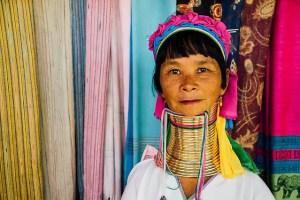 Thailand: long neck woman