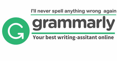 Grammarly spelling and grammar checker