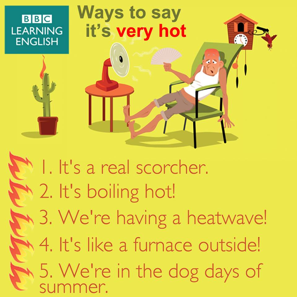 ways-to-say-its-hot-outside