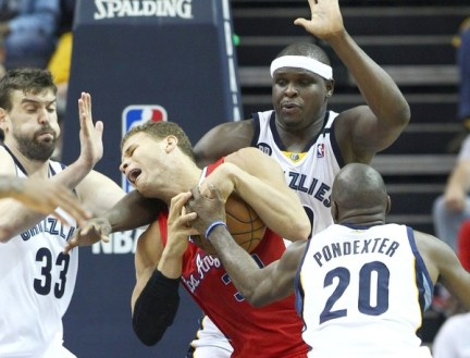 Los Angeles Clippers at Memphis Grizzlies Basketball