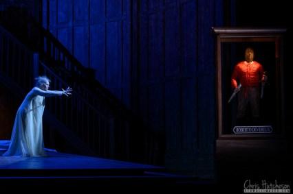 Sondra Radvanovsky and Leonardo Capalbo in the Canadian Opera Co