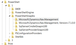 After FIX Microsoft Dynamics NAV 2013 Administration Keys Status
