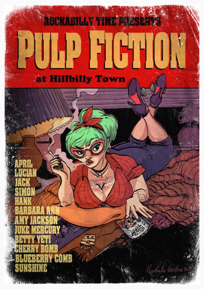 Rockabilly Time 2020 : hommage à Pulp fiction