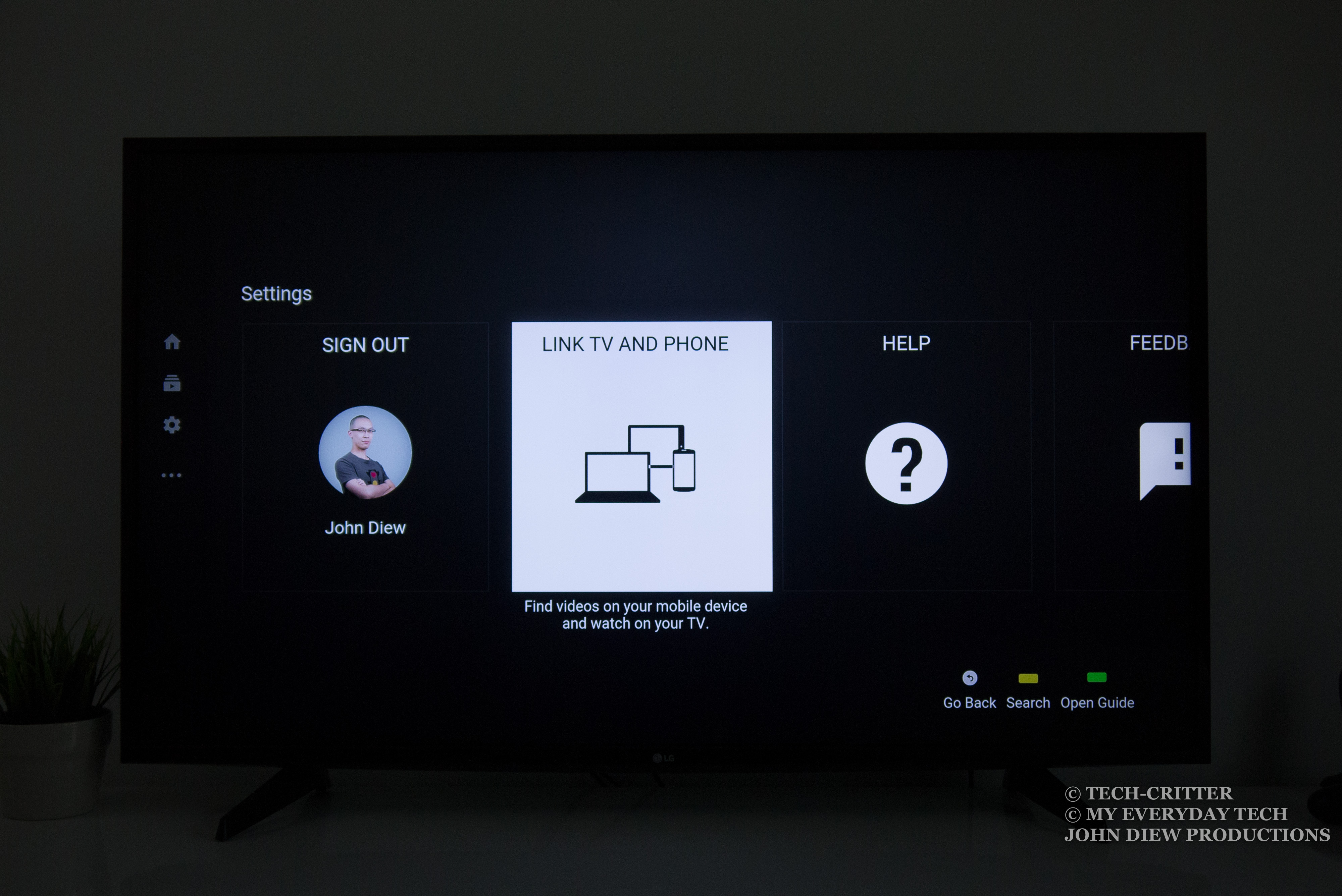 how to connect phone to smart tv youtube