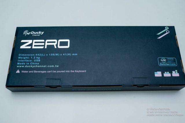 Ducky Zero DK2108 Mechanical Keyboard Review 3