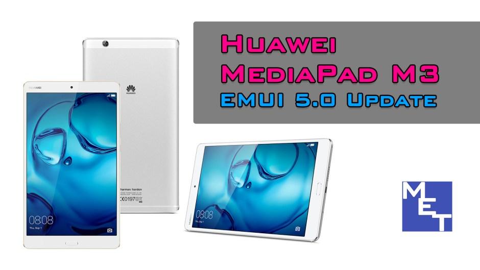 Huawei MediaPad M3 EMUI 5.0