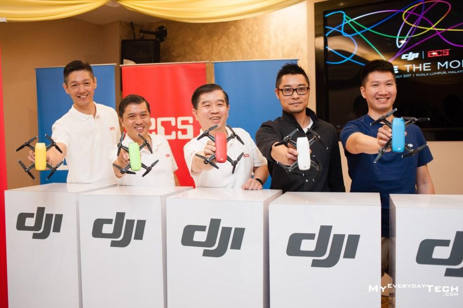 DJI Spark Launch