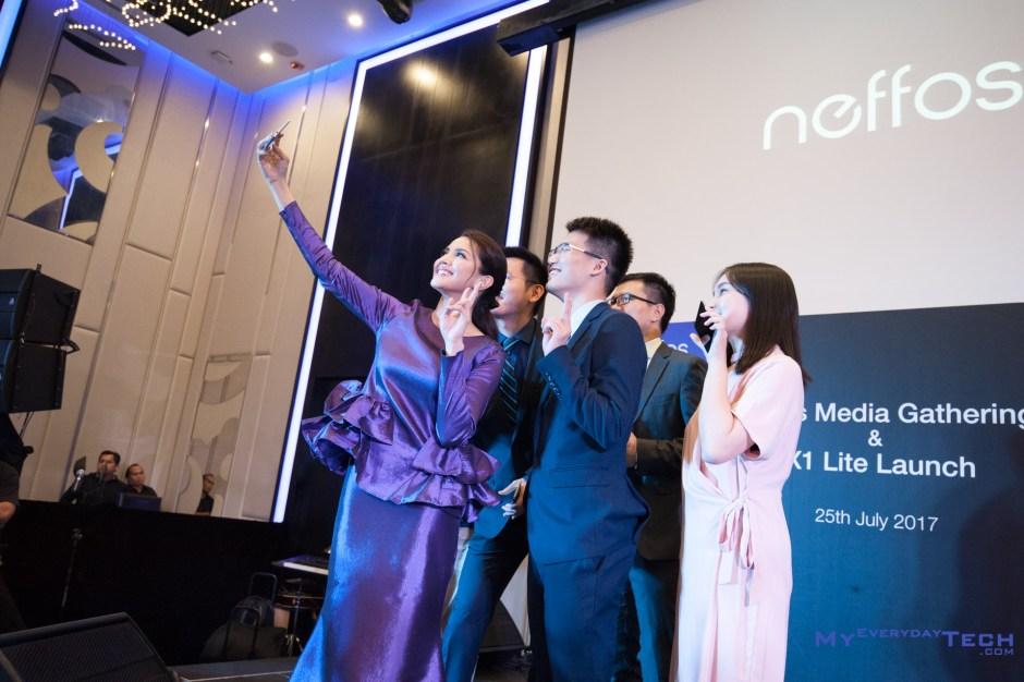 Neffos X1 Lite launch