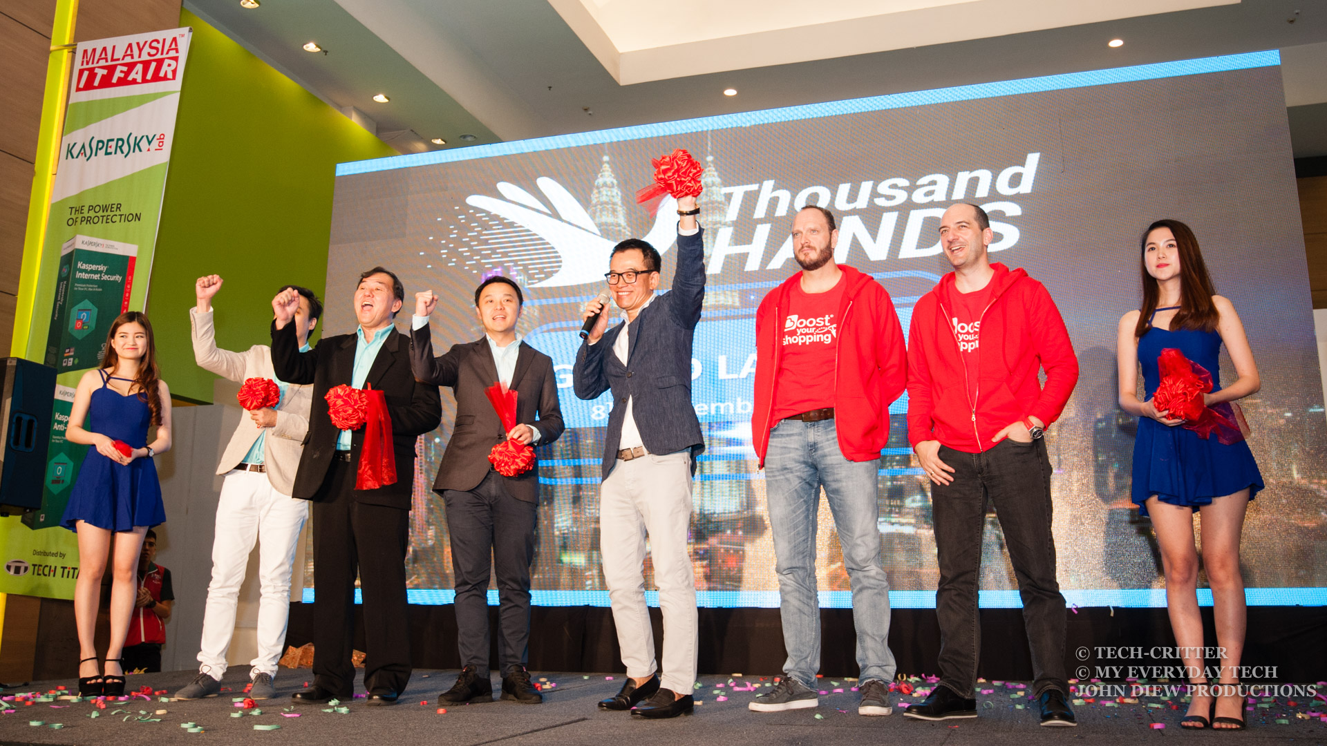 Thousand Hands App Launch: Auction Your Problems Away