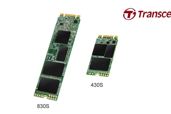 Transcend M.2 SSD 430S 830S Featured