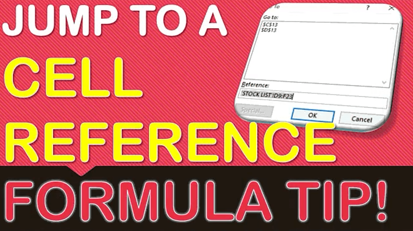 Excel Cell Reference