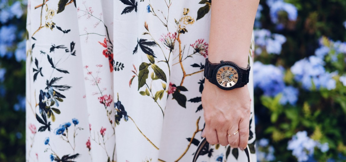 Fall florals, flowers and a Jord Wood Watch giveaway