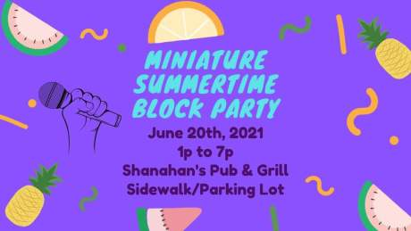 summertime block party