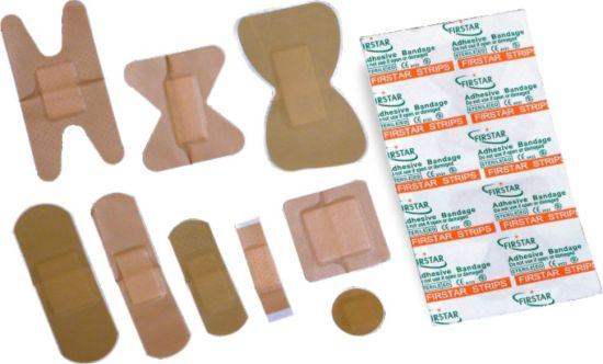 Adhesive bandages come in all shapes and sizes