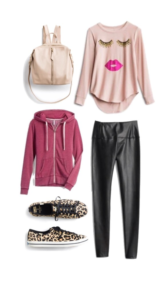 Stitch Fix Edgy Athleisure Outfit
