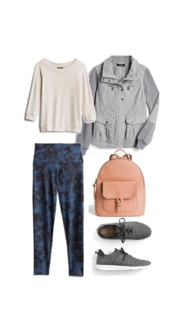 Stitch Fix athleisure outfit inspiration