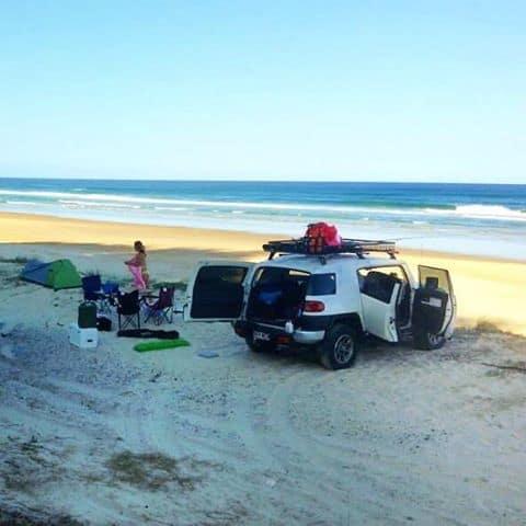 Fraser Island camping