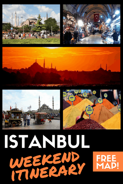 ISTANBUL - weekend itinerary