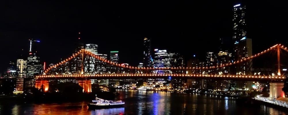 View from Bowen Terrace Brisbane