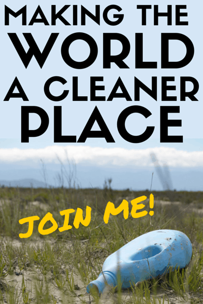 Making the world a cleaner place!