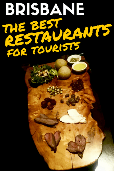 BRISBANE - Restaurants for tourists