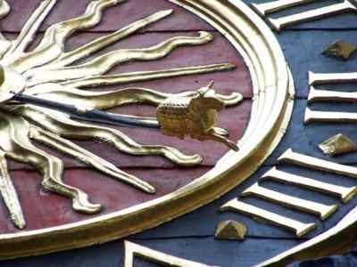 Rouen - Gros Horloge close up