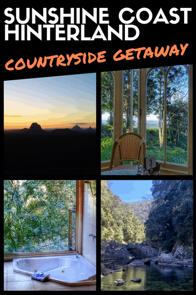 sunshine coast hinterland - countryside getaway