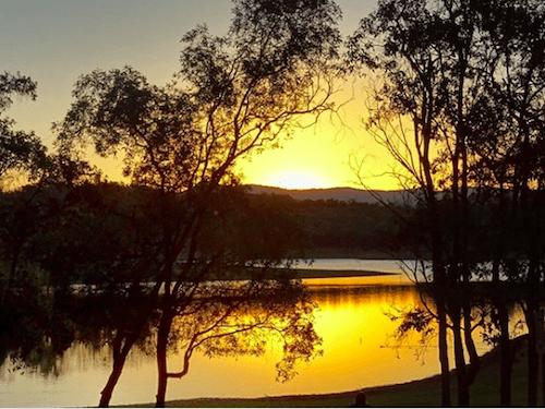 Best Brisbane Sunsets Lake Samsonvale