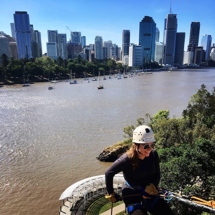 Brisbane Kangaroo Point Cliff Abseiling