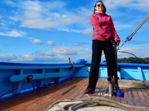 Sailing Brittany Saint Goustan - Indomptable - eloise