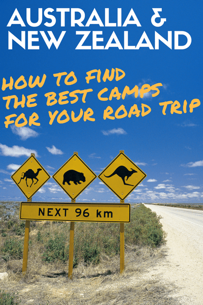 australia new zealand find best camps for road trip