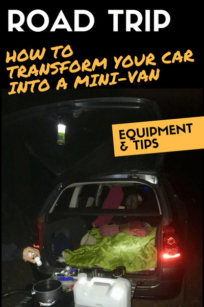 ROAD TRIP transform your can into a mini van
