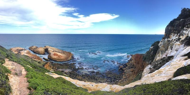Crowdy Bay Natural Arch Pano