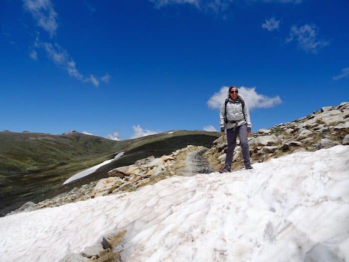 Charlotte's Pass to Mt Kosciuszko walk
