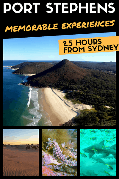PORT STEPHENS - things to do