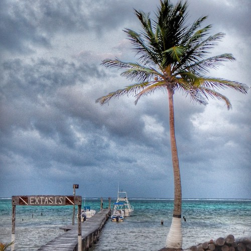 Rare Small Beach Towns in Mexico - xcalak jetty