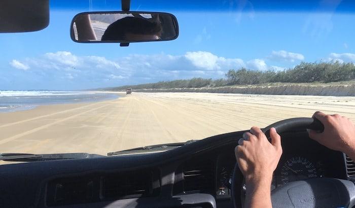 Fraser Island Self Drive Itinerary