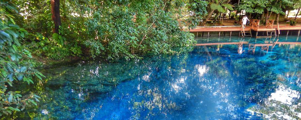 Nanda Blue Hole Espiritu Santo Vanuatu