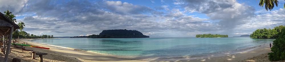 Beach at Port Olry Vanuatu