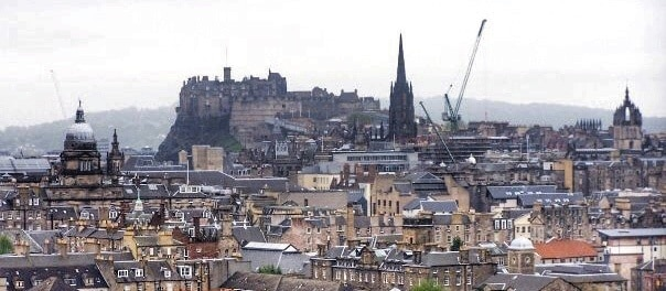 Calton Hill Lookout Edinburgh