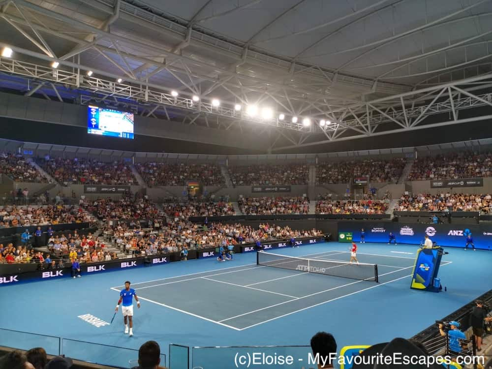 France vs Serbia | Monfils (#9) vs Djokovic (#2) playing for the ATP Cup in Brisbane