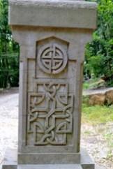 celtic cross detail