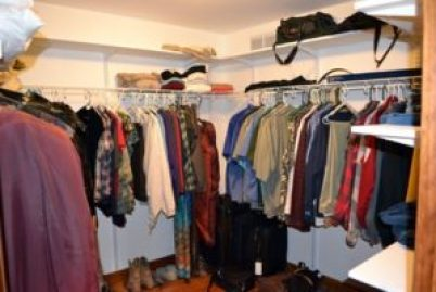 moved in master closet 2